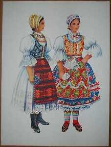 Serbian and Hungarian Folk Costume - Vojvodina Backa - II/17