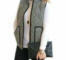 Ladies Casual Stand Collar Winters Vest Warmer Clothing Fashionable Outdoor Wear