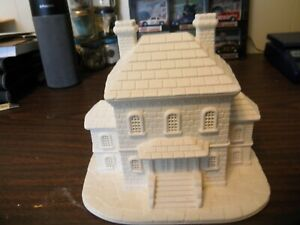 "READY TO PAINT CERAMIC 6"" TALL COUNTY JAIL BUILDING  BYRON MOLDS 1987"