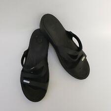 Crocs Womens Shoes Sandals Black Size US 7