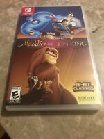 Aladdin and the Lion King (Nintendo Switch, 2019) - Fast Free Shipping