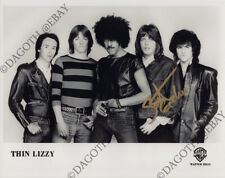 THIN LIZZY 8x10 Photo SCOTT GORHAM Guitar Boys Are Back in Town Autograph SIGNED