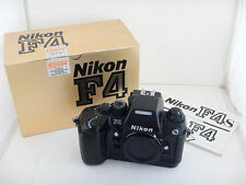 Nikon F4 + Scatola Box Istruzioni Instructions Excellent Condition Nikkor