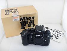 Nikon F4 S + Scatola Box Istruzioni Instructions Excellent Condition Nikkor