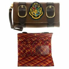 Bioworld Harry Potter NEW * Hogwarts Satchel Fold Wallet * Ladies Womens NWT
