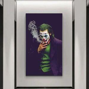 Joker Joaquin Phoenix Canvas Painting Comics Movie Posters And Prints Cuadros Wa