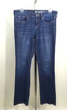 Women's Gap Sexy Bootcut Fit Coupe Sexy Dark Stone Wash Blue Jeans Size 6/28A