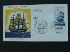 sailing ship Fregate FDC 37054