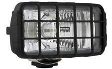 Fernscheinwerfer Scheinwerfer Weiß Zusatz 195x95 mit Schutzgitter 12/24V Halogen