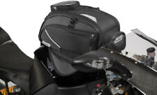 Rapid Transit Recon 19 Magnetic Mount Motorcycle Tank Bag - Black/Gunmetal