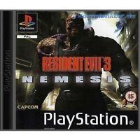 PS1 / Sony Playstation 1 Spiel - Resident Evil 3 Spiel - Nemesis DEUTSCH nur CD