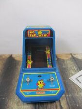 VINTAGE COLECO MS PAC MAN TABLE TOP ARCADE GAME TESTED AND WORKING