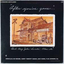 HERB ELLIS, RAY BROWN: After You've Gone CONCORD Jazz Vinyl LP NM-
