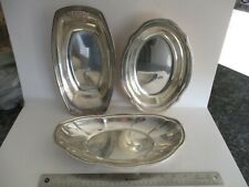 """Sterling Silver Serving Trays """"Free Shipping"""""""