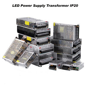 LED Driver Power Supply Transformer DC 12V IP20 LED AC 230V UK 3 Years Warranty