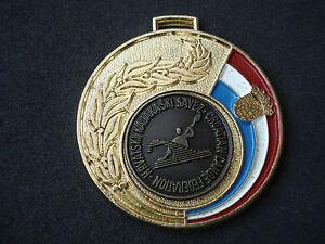 Croatian Canoe Federation, 1996 Championship, medal, plaque; rowing