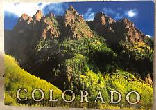 Tourist Postcard ~ Colorado Baldy Mountain USA Posted 2009