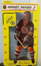 1975 NHLPA Hockey Heroes Stand-Up Boston Bruins Gregg Sheppard Fact.wrapped