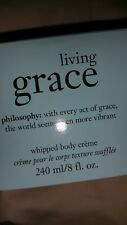 Philosophy Living Grace Shower Gel and Body Cream.