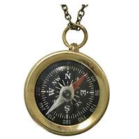 Victorian steampunk pendant necklace jewelry pirate costume accessories compass
