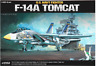Academy Plastic Model Kit 1/48 F-14A Tomcat US Navy Fighter #12253 / Free Gifts