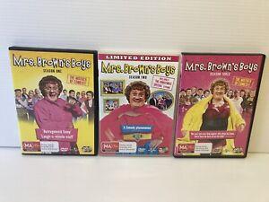 MRS BROWNS BOYS DVD Bundle Bulk Lot Season 1,2,3 Free Post Aus Seller