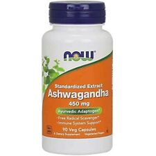NOW Foods Ashwagandha Extract 450mg, 90 Vcaps