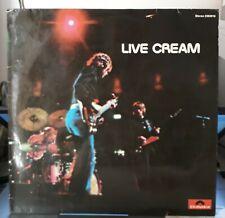 LP - Cream  - Live Cream (Vinyl)  Polydor – 2383 016 Germany 1970