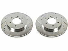 Front Brake Rotor Set For 04-08 Ford Lincoln F150 Mark LT 4WD KS19P3