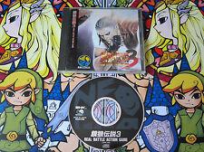 FATAL FURY 3 NEOGEO CD NEO GEO NTSC JAPAN COMPLETO EN BUEN ESTADO