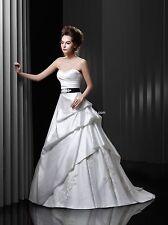 BNWT ENZOANI BEAUTIFUL BT13-28 WEDDING GOWN DRESS SZ 16 IN IVORY *RETAIL $1150*