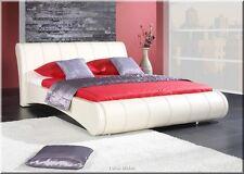 Doppelbett mit Lattenrost Bettkasten Farbauswahl Kunstleder Bett 140 x 200 cm