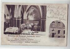 Weinstuben Restaurant Patriotischer Keller  Hamburg Trostbrücke 1910
