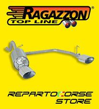 RAGAZZON TERMINALE SCARICO SDOPPIATO FIAT PUNTO EVO 1.3 MJT 16V 10/09>