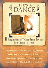2007 Country Artists Music Video's Life's A Dance DvD Collectors 11 Song Edition
