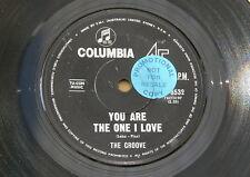 "GROOVE THE ONE I LOVE COLUMBIA orig OZ GARAGE NORTHERN SOUL  7"" 45"