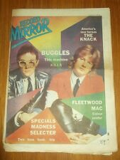 RECORD MIRROR NOVEMBER 3 1979 THE KNACK FLEETWOOD MAC BUGGLES QUEEN AC/DC