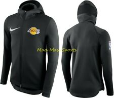 Nike LOS ANGELES LAKERS Mens THERMA FLEX Lebron James SHOWTIME Game HOODIE S-XXL
