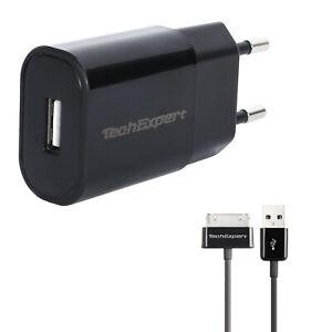 Chargeur et cable pour Samsung Galaxy Tab 1 et Galaxy Tab 2 1mètre