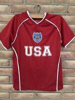 Team USA Youth Soccer Jersey Size Medium (10-12)US Simply for Sports
