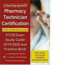 Pharmacy Technician Certification Study Guide 2019:20 Test Prep Books Paperback