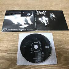 Mayhem – Live In Leipzig [1CD, Digipack, Avantgarde Music – AV004-96] 0Burzum0