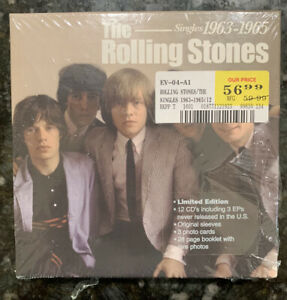 """The Rolling Stones """"The Singles 1963-1965"""" (12) CD Box Set - New/Sealed"""