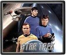 Star Trek astronave Enterprise con William Shatner, Leonard Nimoy Tappetino per mouse [m1]
