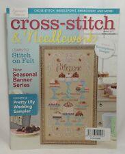 Cross Stitch & Needlework Magazine Spring 2015 A Scrumptious Design Wedding New