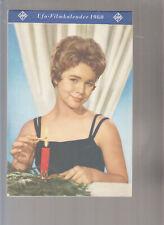 UFA - Filmkalender 1960 sehr schöner Zustand komplett.