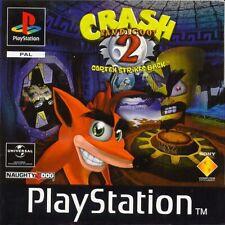 Crash Bandicoot 2 Cortex Strikes Back PS1 Playstation 1 jeux games 4406