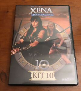Xena Warrior Princess Official Fan Club Kit 10 DVD Lucy Lawless 10 Anniversary