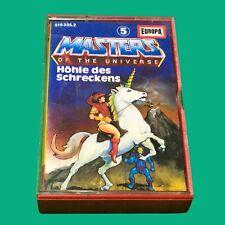 Masters of the Universe Kassette MC Folge 5 Höhle  des Schreckens   #