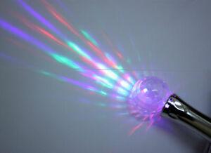 Mini Galaxy Ball Torch Disco Ball Light Projector Globe Wand Flashing Kids Toys